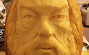 I Carve Pumpkins Into Famous Faces (12 Pics)