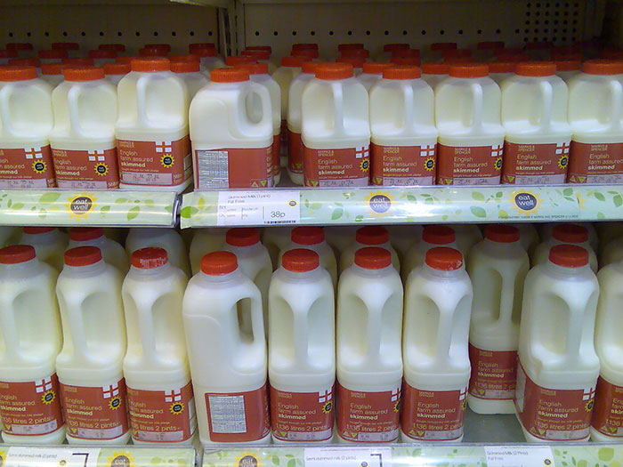 The best way to know if the milk is still good is to smell it