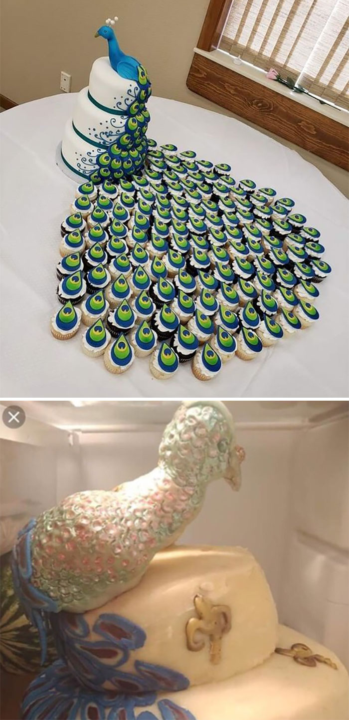 Peacock Cake Of Dreams