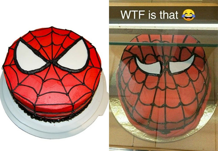 A Spoderman Cake