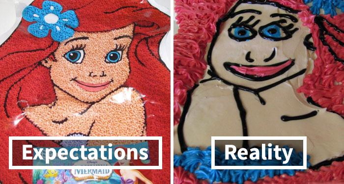 Expectations Vs. Reality: 30 Of The Worst Cake Fails Ever Submitted On This Online Group
