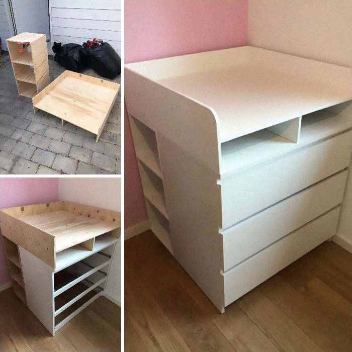 Malm - Baby Changing Table