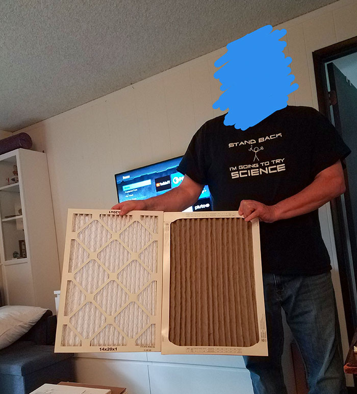 What Happens To The Furnace Filter After Two Weeks Of Wildfire Smoke