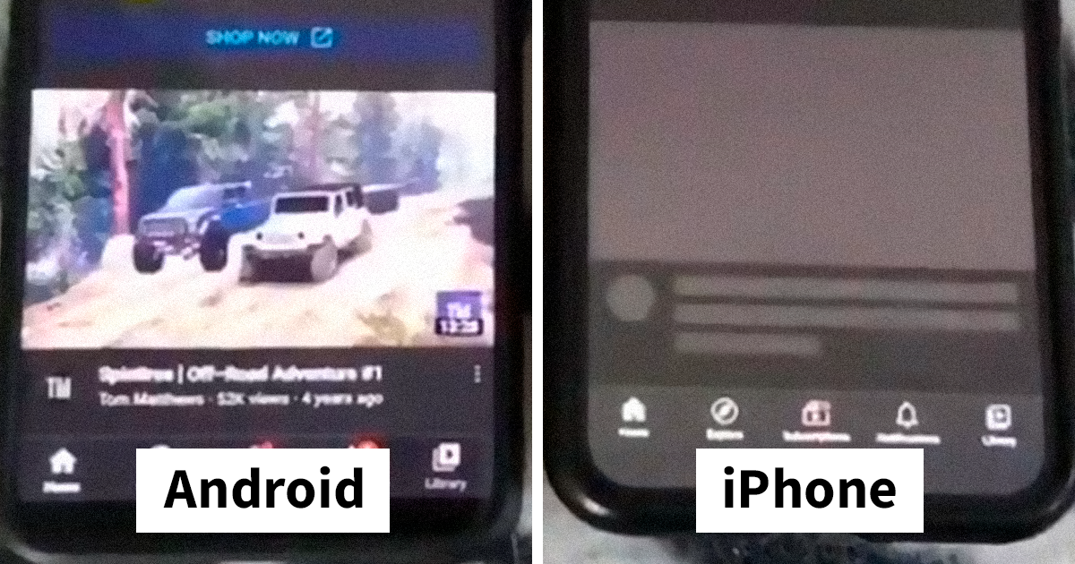 "TikToker Films A Comparison Of iPhone And Android Speed In Real Time, Debunks Claim That ""Androids Are Slow"" - bored panda"