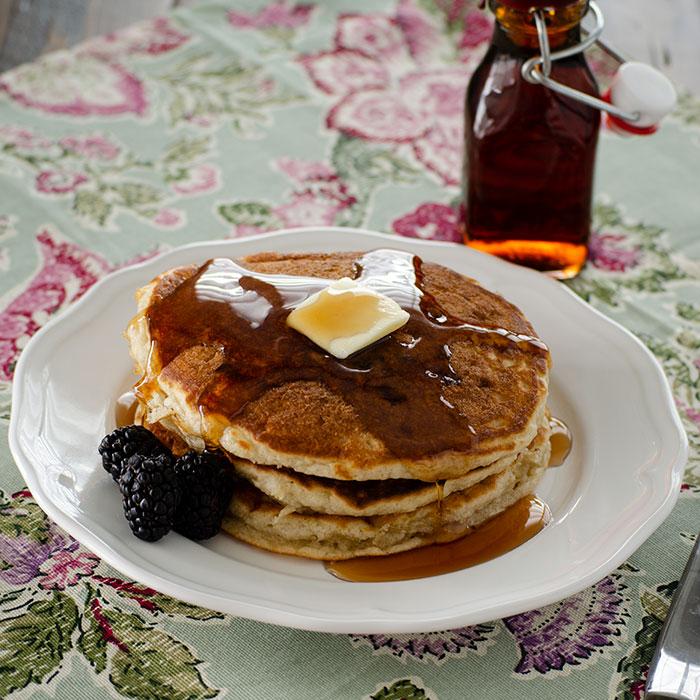 My Famous(Ish) Lemon Curd Pancakes