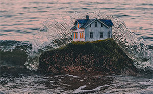 I Put Houses Into Places They Don't Belong In (17 Pics)