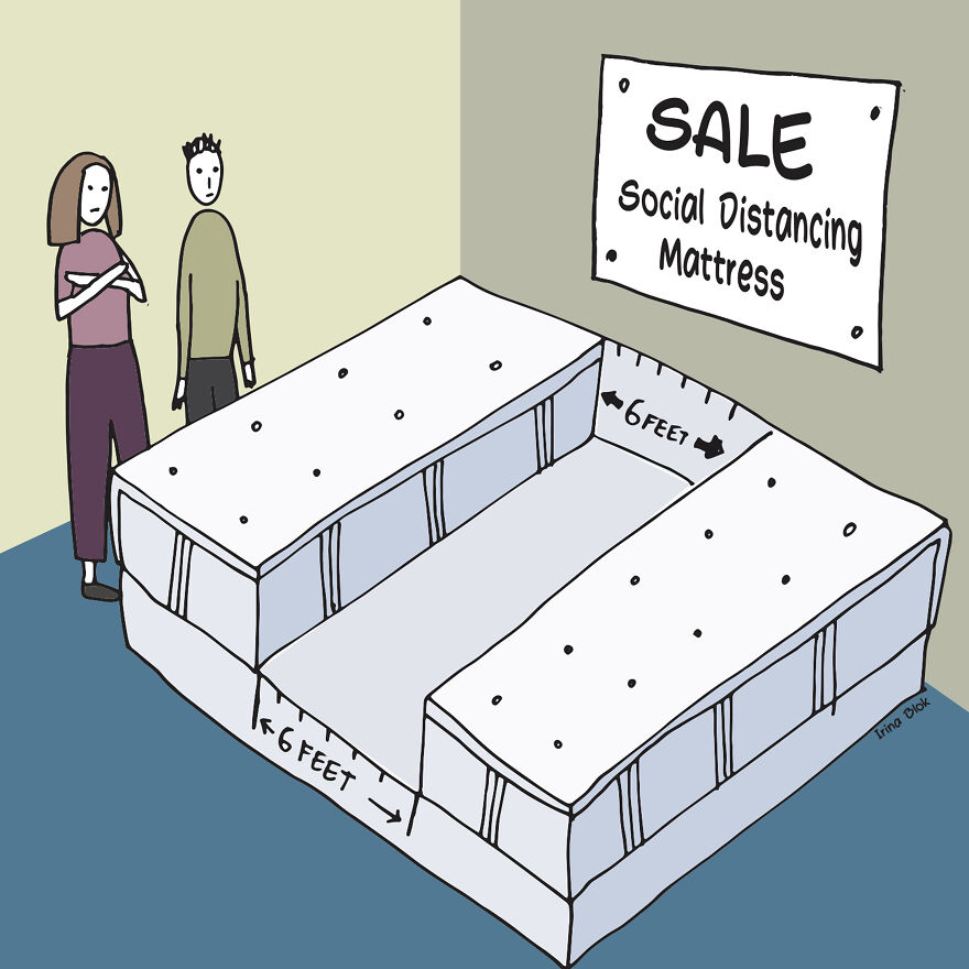 Social Distanced Matress