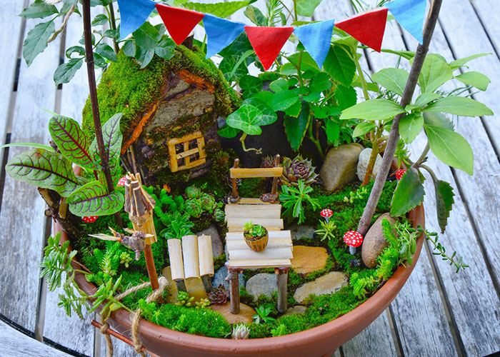 I Started Making Tiny Gardens At Home To Relax From My Everyday Job (28 Pics)