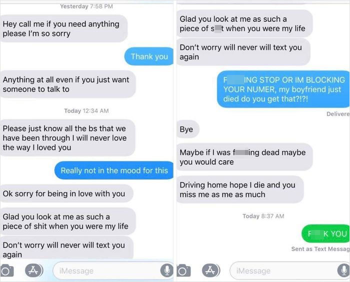 "A Facebook Friend Had Her BF Pass Away Recently, And She Shared This Experience From A ""Nice Guy"""