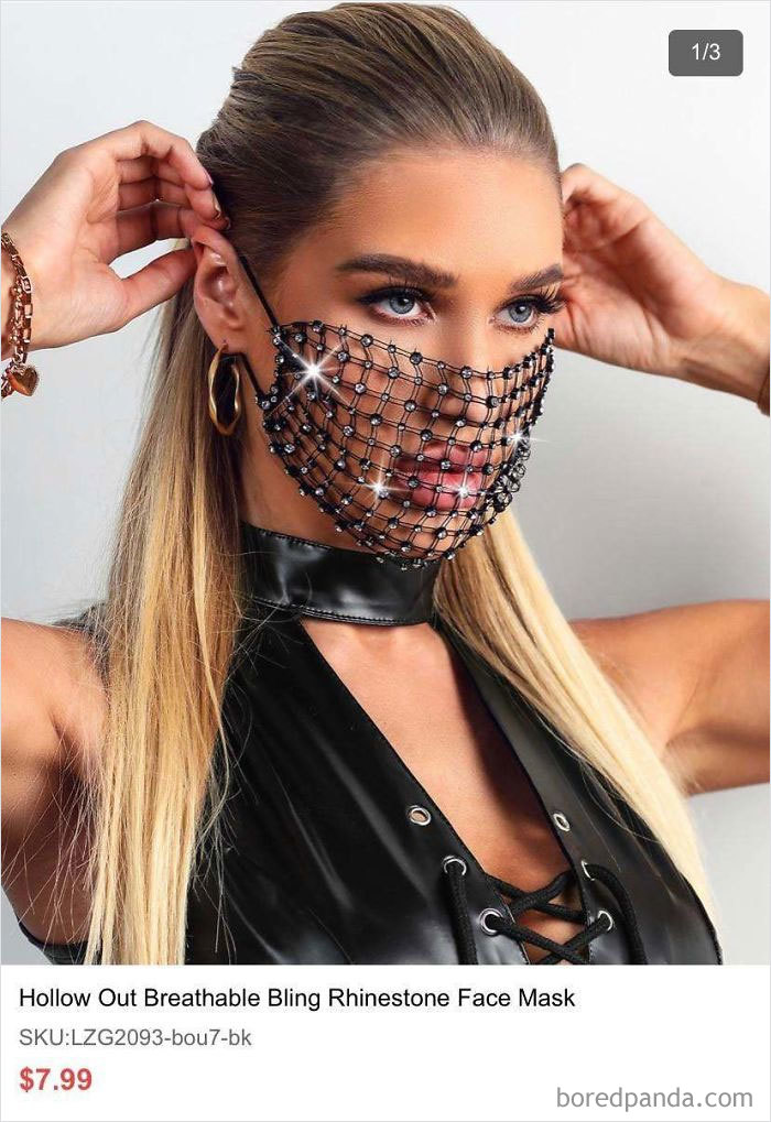 This Mask I Got An Ad For...