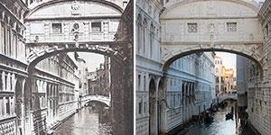He vuelto a fotografiar las imágenes de Kurt Hielscher para mostrar cómo ha cambiado todo tras casi 100 años (19 fotos)