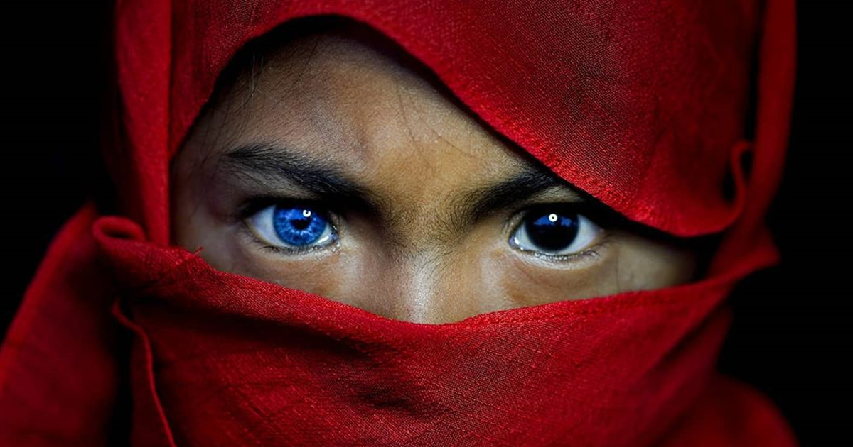 These Indonesian Tribespeople Have Piercing Blue Eyes Due To A Genetic Condition