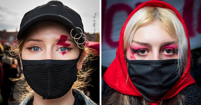 I Documented How Women Protest The New Law That Bans Abortion In Poland (11 Pics)