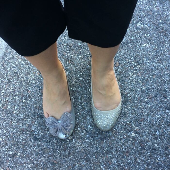 So This Totally Happened This Morning, Got To Work With Two Different Shoes On!