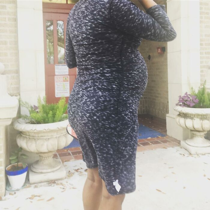 Hazel And Lennox Look What You Did To Your Mama! This Isn't Normal!!! All Day I Was Inside Out!! Pregnancy Brain Controlling My Life!! Thank You, Christine For Letting Me Know And Snapping A Memorable Picture!