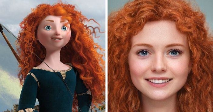What If Disney Characters Were Real: Artist Uses Artificial Intelligence To Answer This Question (15 New Pics)