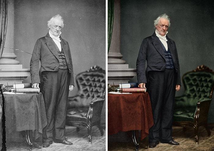 James Buchanan, 15th President 1857-1861