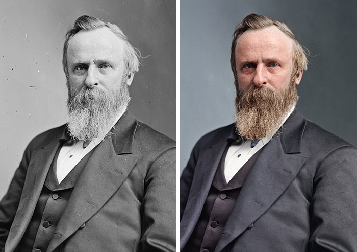 Rutherford B. Hayes, 19th President 1877-1881