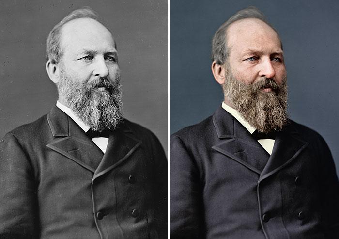 James A. Garfield, 20th President 1881