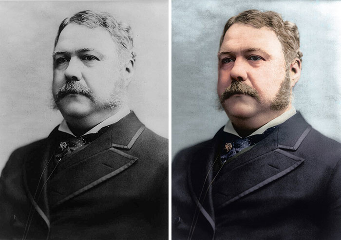 Chester A. Arthur, 21st President 1881-1885