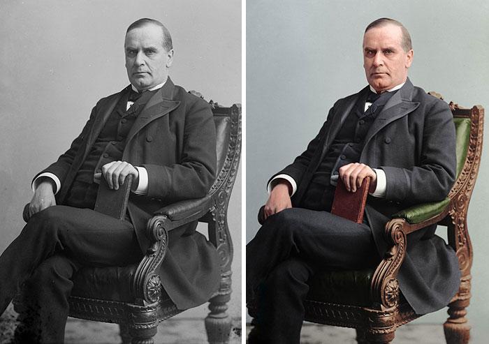 William Mckinley, 25th President 1897-1901