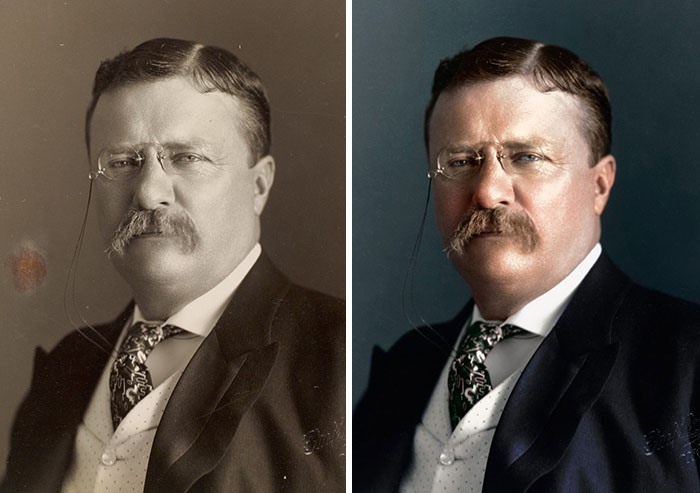Theodore Roosevelt, 26th President 1901-1909