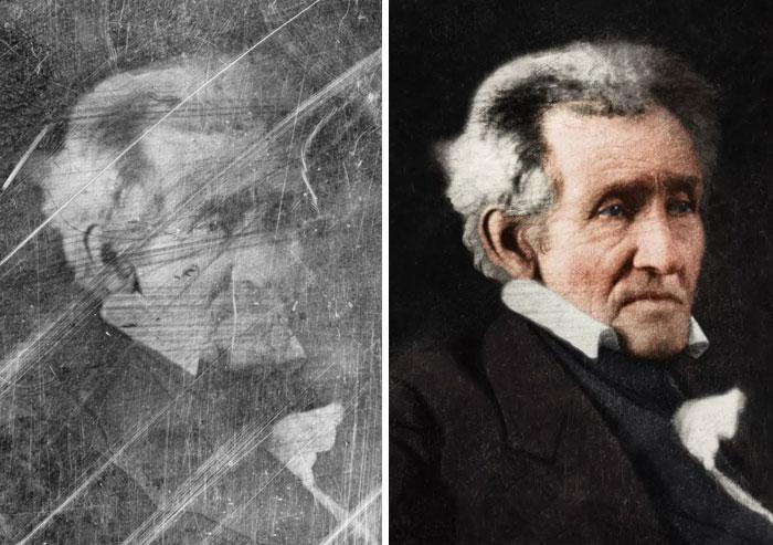 Andrew Jackson, 7th President 1829-1837