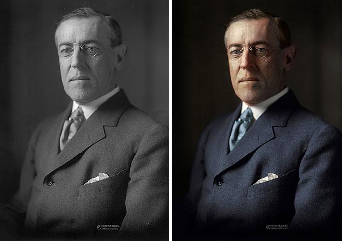 Woodrow Wilson, 28th President 1913-1921
