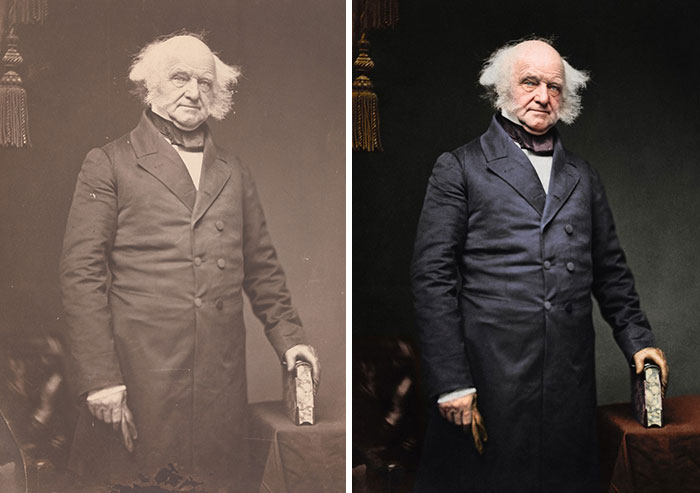 Martin Van Buren, 8th President 1837-1841