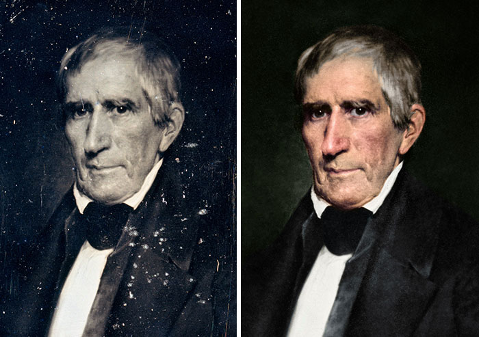 William Henry Harrison, 9th President 1841 - Died After 31 Days Of Pneumonia