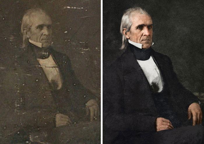 James K. Polk, 11th President 1845-1849