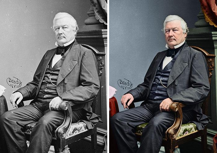 Millard Fillmore, 13th President 1850-1853