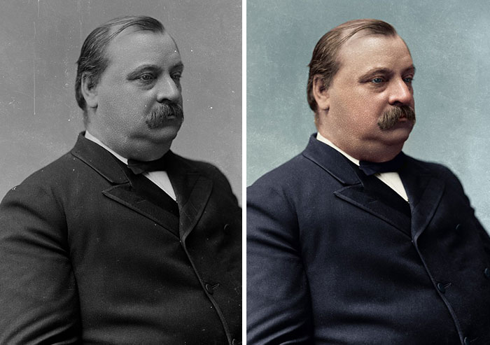 Grover Cleveland, 22nd And 24th President 1885-1889