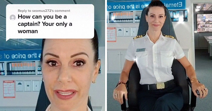 Someone Asks This Captain 'How Can You Be A Captain? Your Only A Woman,' Gets Shut Down With A Hilarious Response