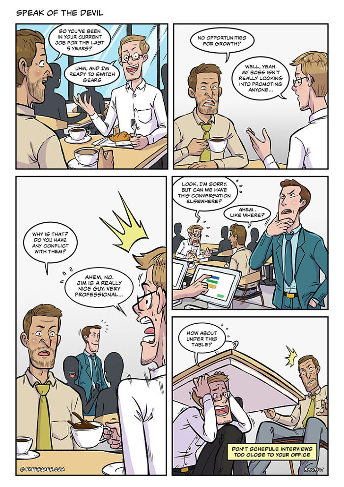 Our 22 Comics Show How Many Hoops You Need To Jump To Find A Good Job
