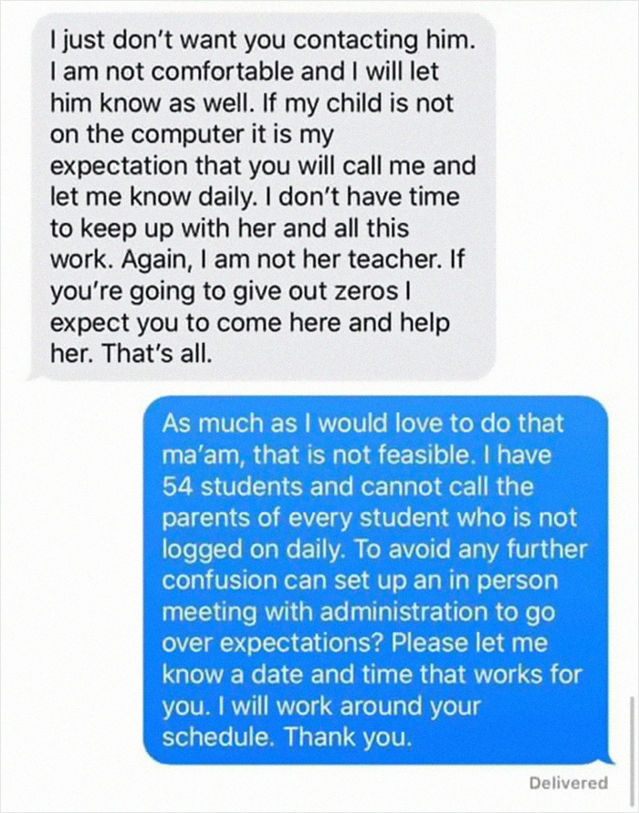 Instructor Shares What Entitled Mother and father They Get To Deal With And The Screenshots Go Viral