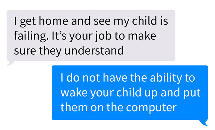 Teacher Shares What Entitled Parents They Get To Deal With And The Screenshots Go Viral