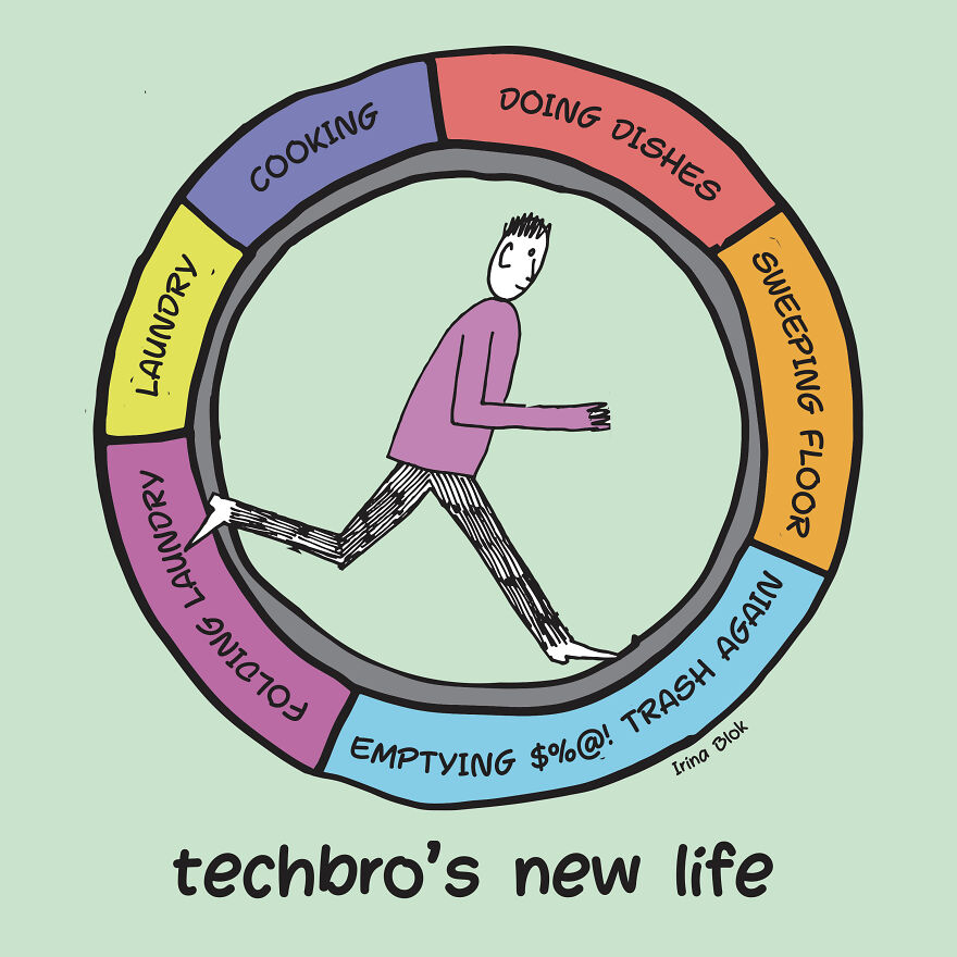 Techbro's New Life
