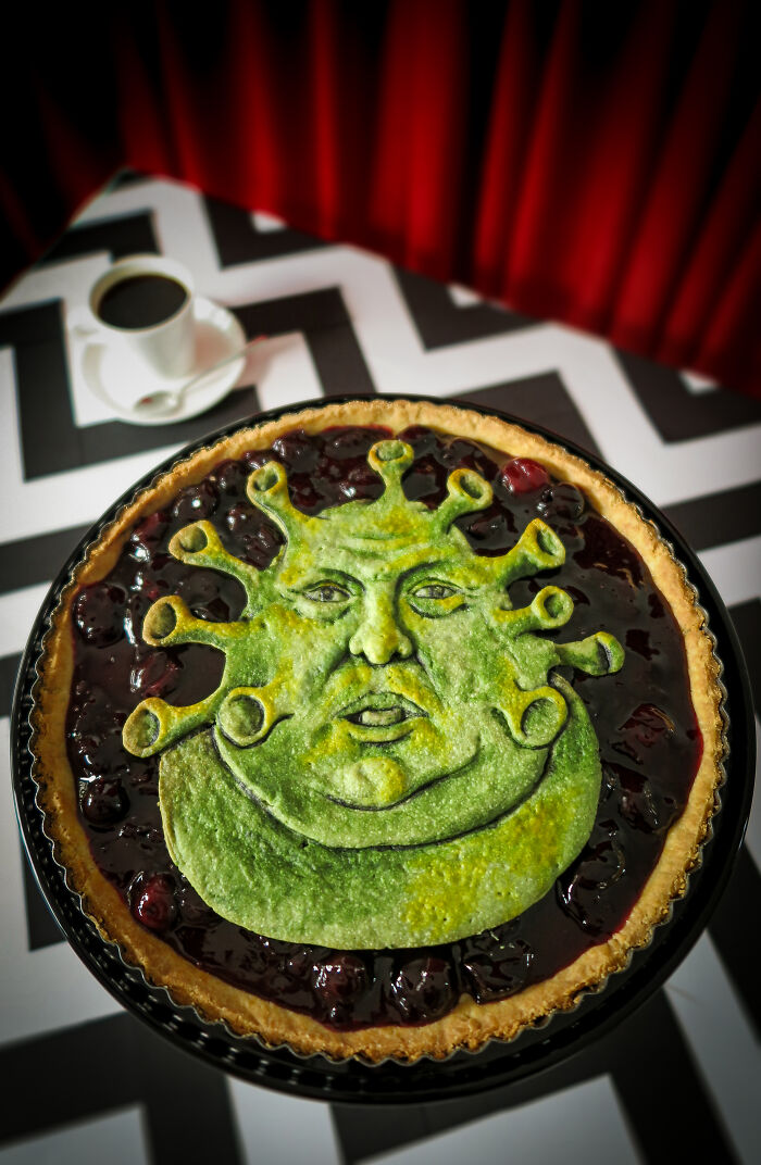 Cherry Pie With An Ogre Virus Pie-Resident