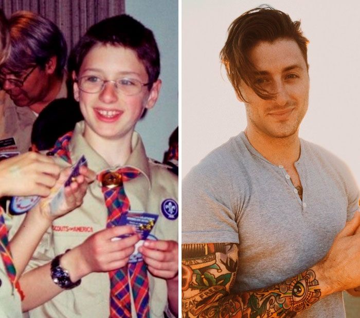 Age 12 To Age 26... Still Feel A Lot Like The Kid On The Left