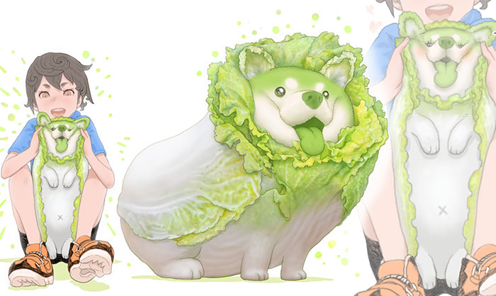 What If Animals Were Vegetables? Japanese Artist Answers That Question (40 Pics)