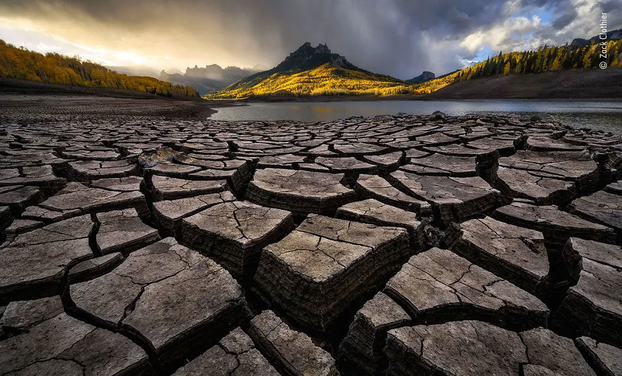 "Earth's Environments Highly Commended: ""When The Rain Came Rolling In"" By Zack Clothier"