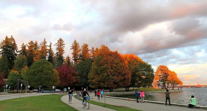 Vancouver-Canada, Stanley Park, Autumn