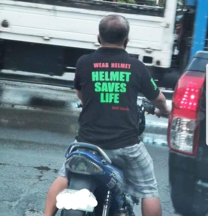 Helmet Saves Lives