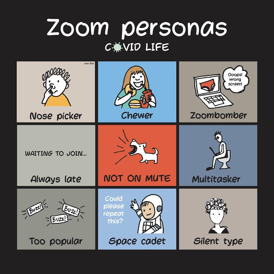 Zoom Personas