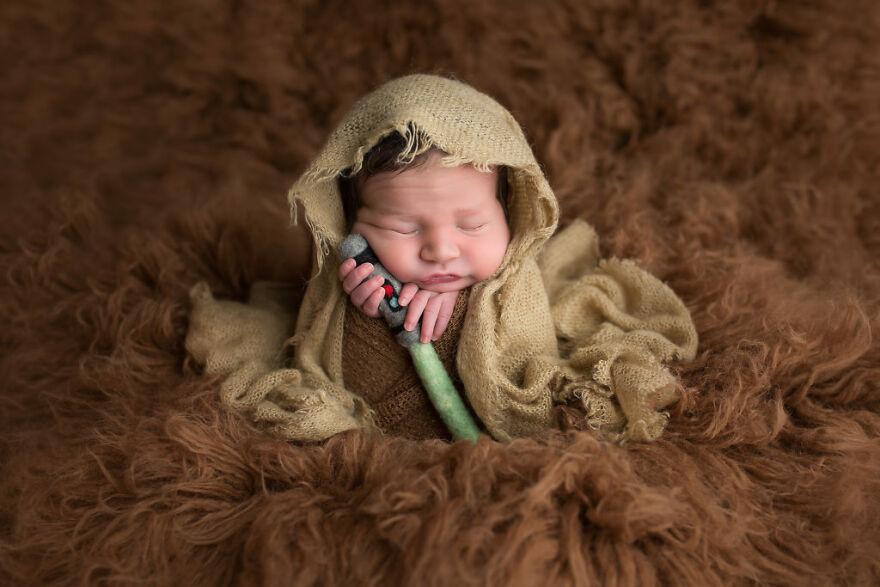 Sleepy Little Jedi