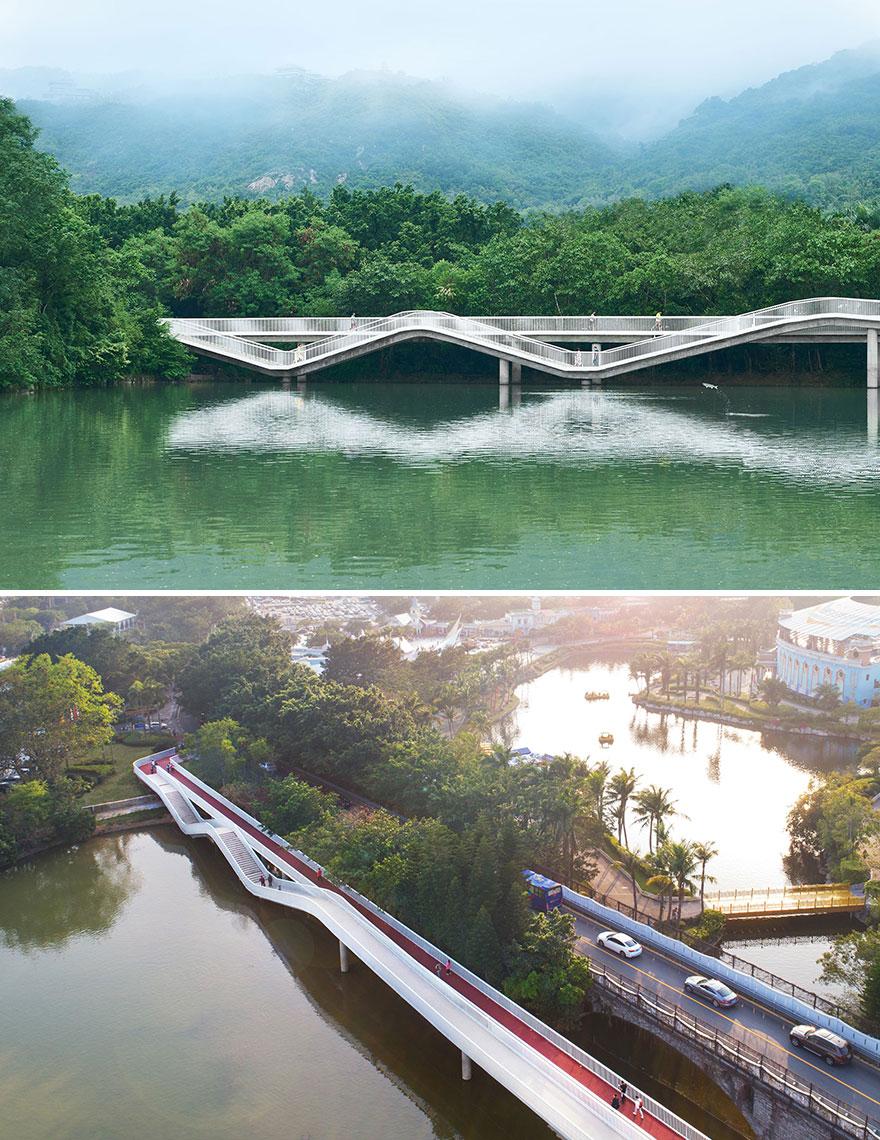 Split Bridge (Best In Installations & Structures, Landscape Design)