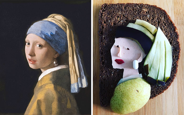Johannes Vermeer - 'Girl With A Pearl Earring' (1665)