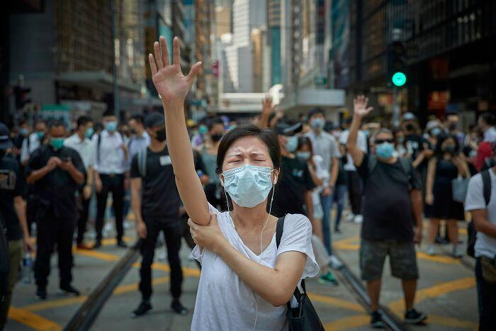 Manifestaciones pro-democracia en Hong Kong (1º en Prensa y noticias)