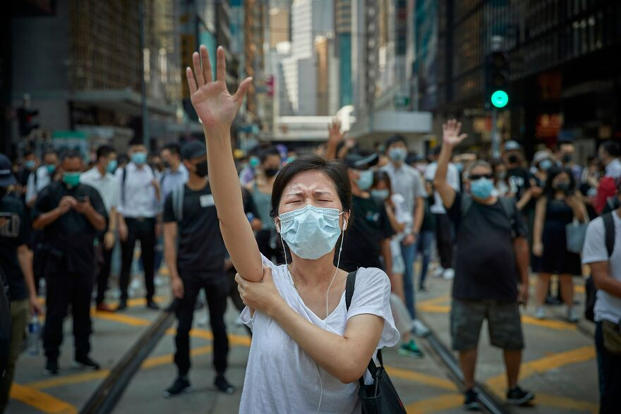 Pro Democracy Demonstrations, Hong Kong: The Revolution Of Our Time (Professional Editorial/Press & General News Category, 1st Place)